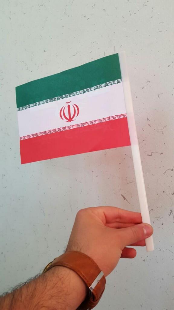 پرچم دستی