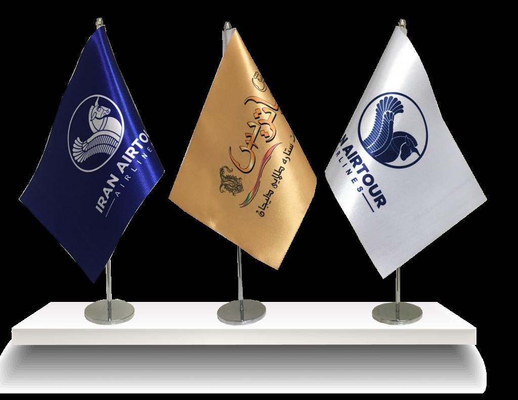 پرچم رومیزی لیزر